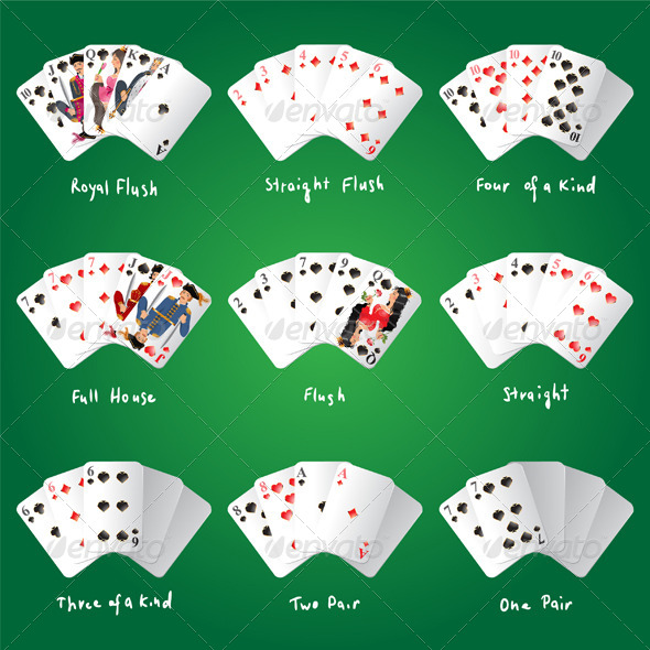 GraphicRiver Poker Combinations 4463398