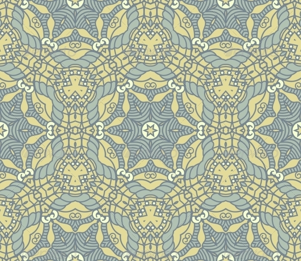 GraphicRiver Seamless Colorful Retro Pattern Background 4463794