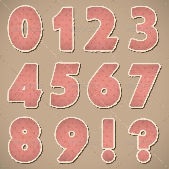 GraphicRiver Retro Paper Alphabet 4463837