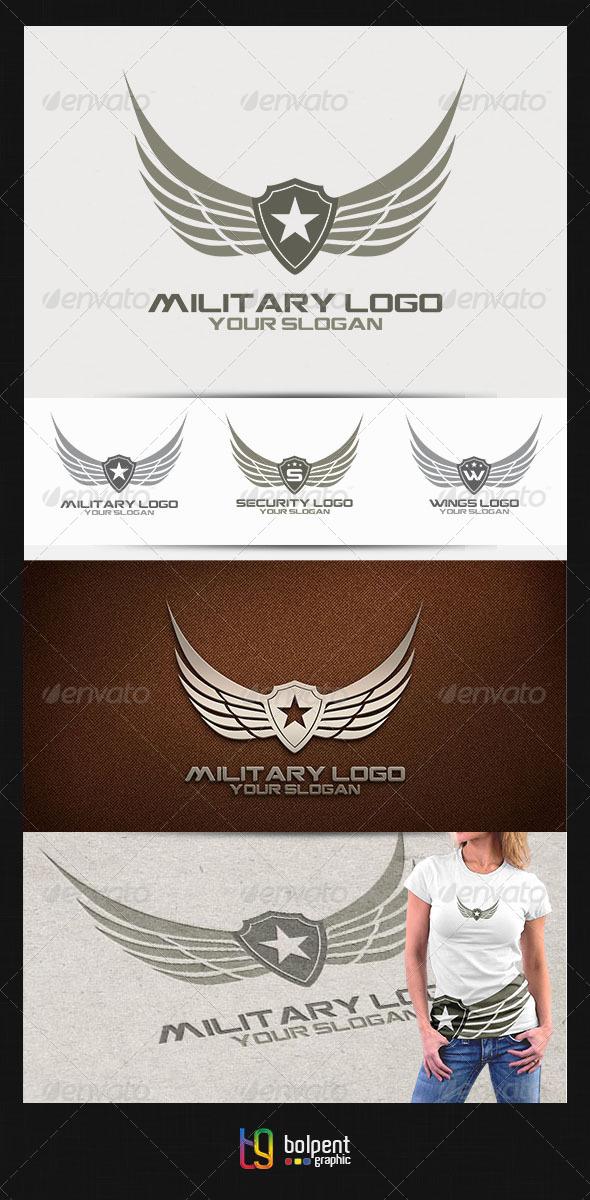 GraphicRiver Military Logo v.2 4465007