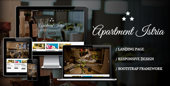 ThemeForest Apartment Istria Responsive Landing Page 4458261