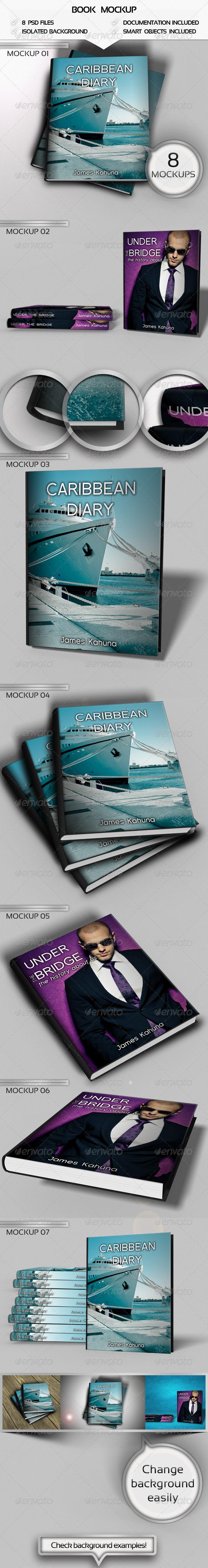 Book Mockups Pack - Books Print