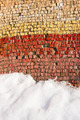 Old colorful mosaic outdoors in winter - PhotoDune Item for Sale