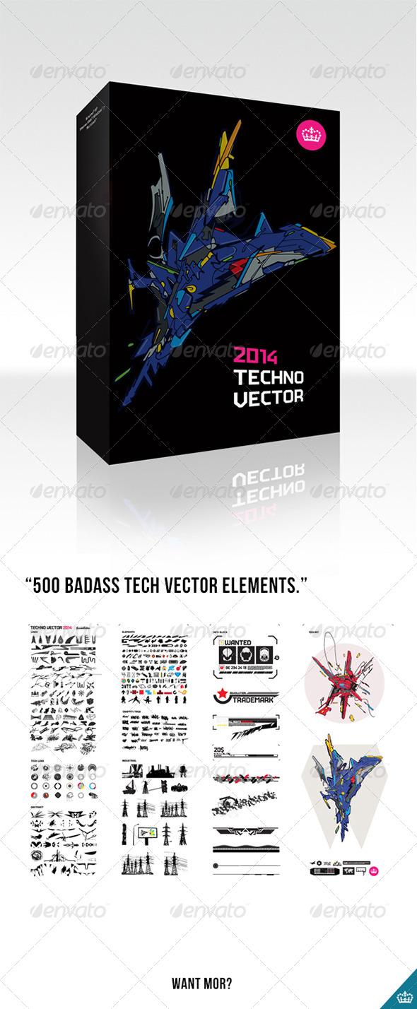 GraphicRiver Techno Vector 2014 4399852