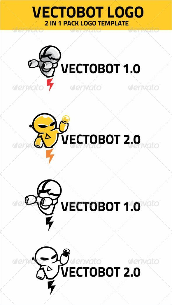 GraphicRiver VECTOBOT LOGO TEMPLATE 4465986