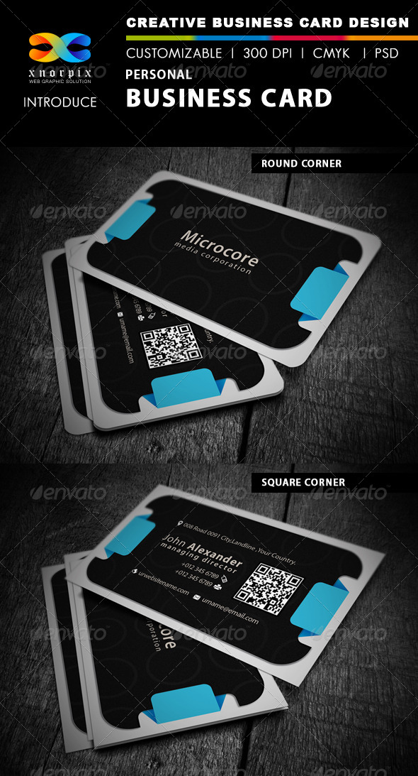 GraphicRiver Personal Business Card 4372127