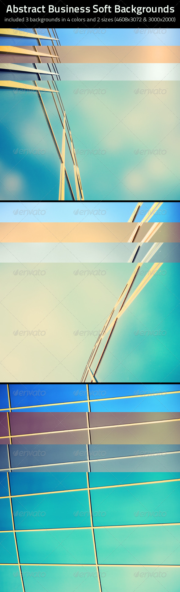 GraphicRiver Abstract Business Soft Backgrounds 4466807