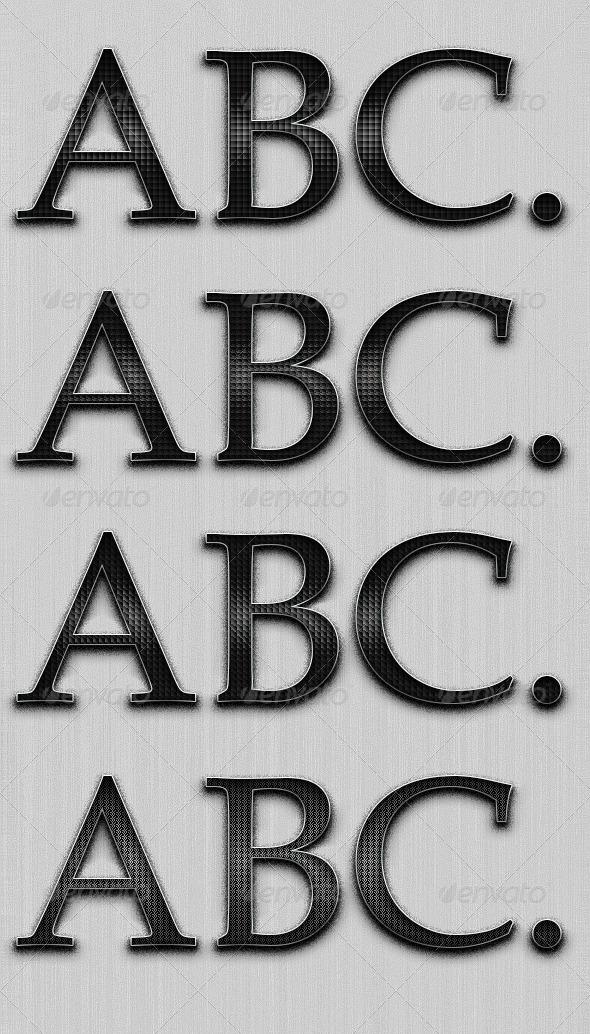 GraphicRiver Simple Elegant Black Styles 4466809
