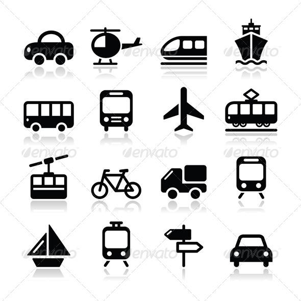 GraphicRiver Travel Vector Icon Set 4467313