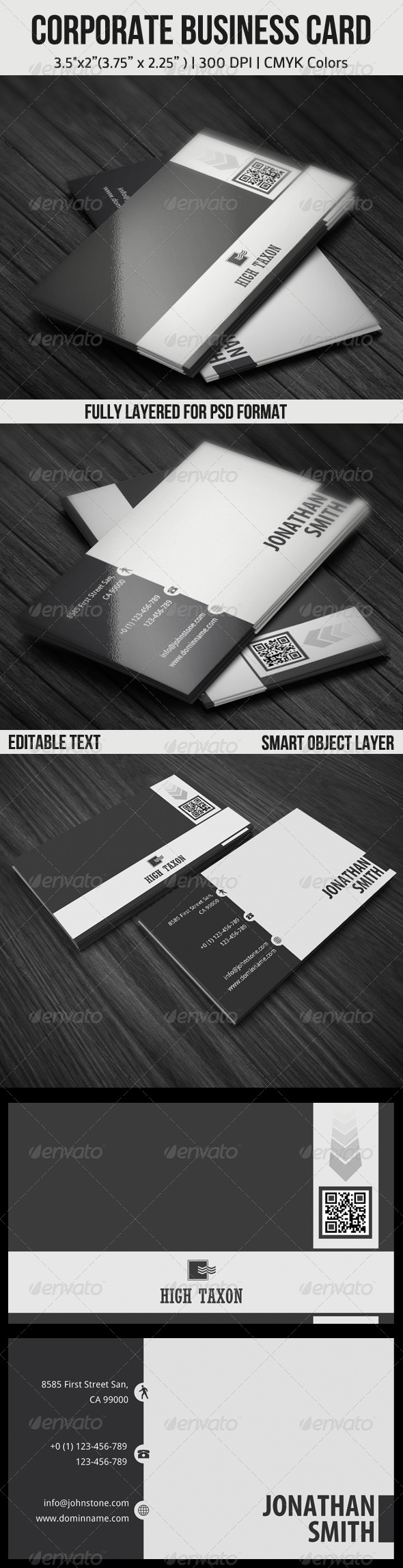 GraphicRiver Corporate Business Card 4467332
