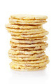 Corn cakes stack on white - PhotoDune Item for Sale