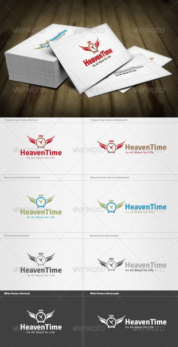 GraphicRiver Heaven Time Logo 4467413