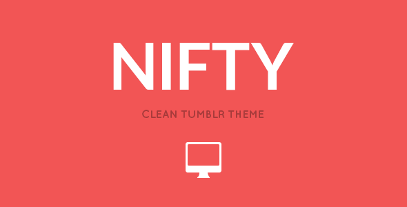 NIFTY - Clean Tumblr Theme - Blog Tumblr