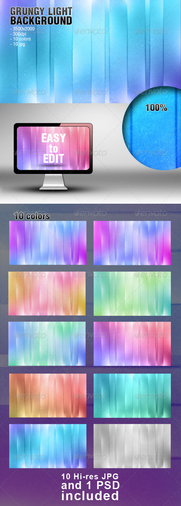 GraphicRiver Grungy Light Background 4467563
