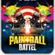 Paintball Battle Flyer Template - GraphicRiver Item for Sale