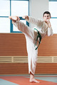 man at taekwondo exercises - PhotoDune Item for Sale