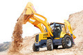 Excavator Loader with backhoe works - PhotoDune Item for Sale