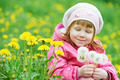 baby with spring dandelion - PhotoDune Item for Sale