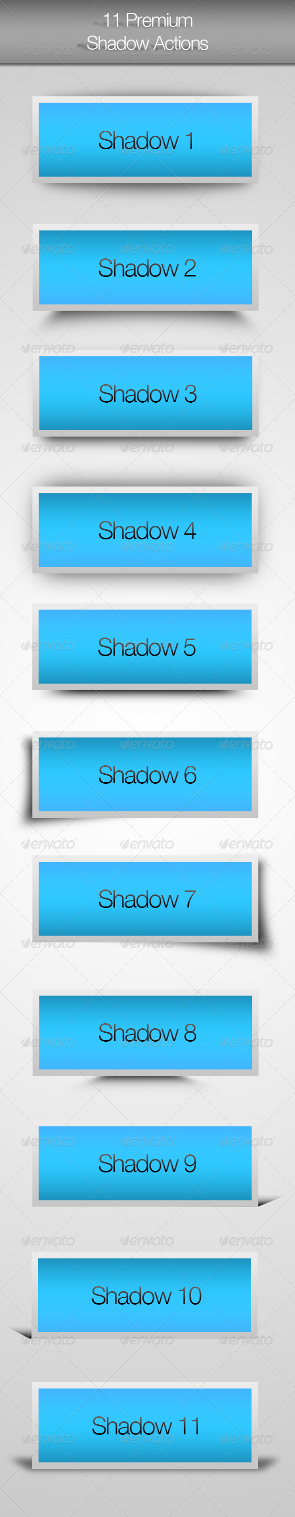 GraphicRiver 11 Premium Shadow Actions 4468397