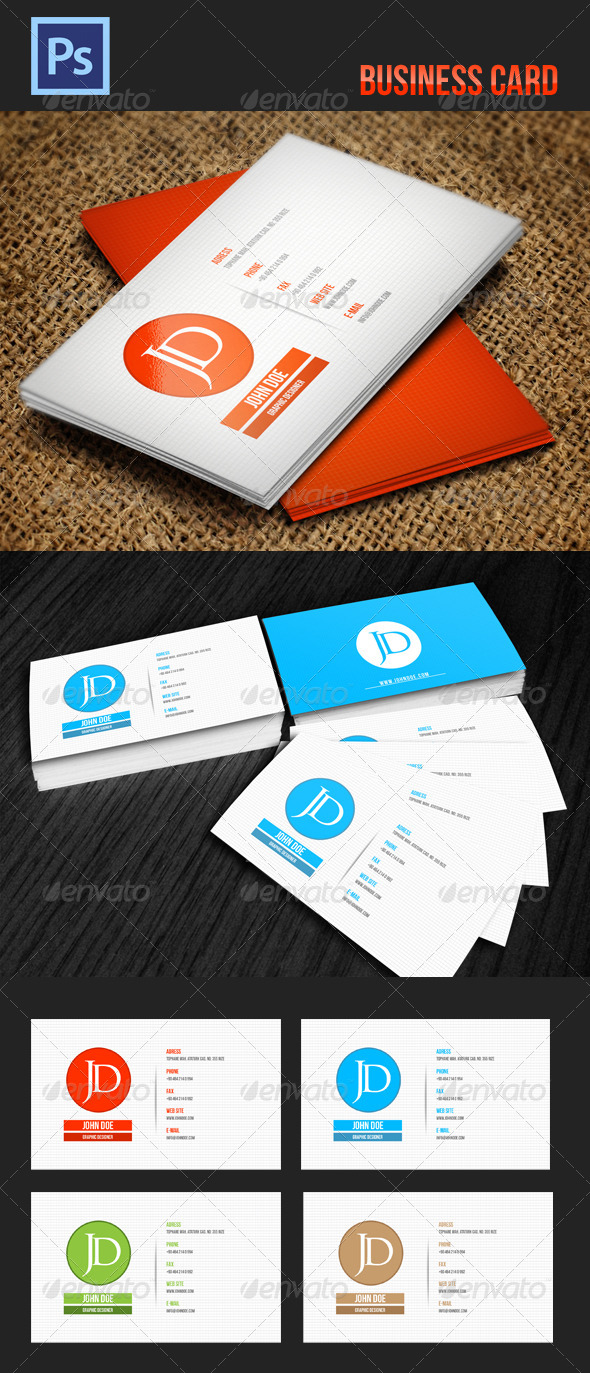 GraphicRiver Business Card 4179665
