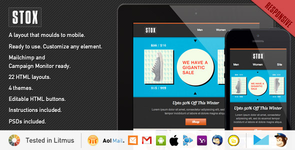 Stox - Responsive Store Template