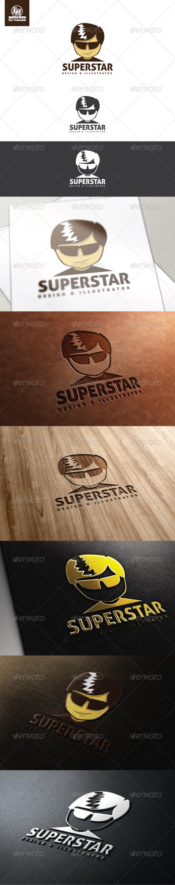 GraphicRiver Superstar Logo Template 4468849