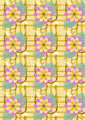 Background with Yellow Flowers and Butterflies - PhotoDune Item for Sale