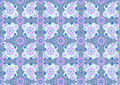 Purple Flowers on a Blue Background - PhotoDune Item for Sale