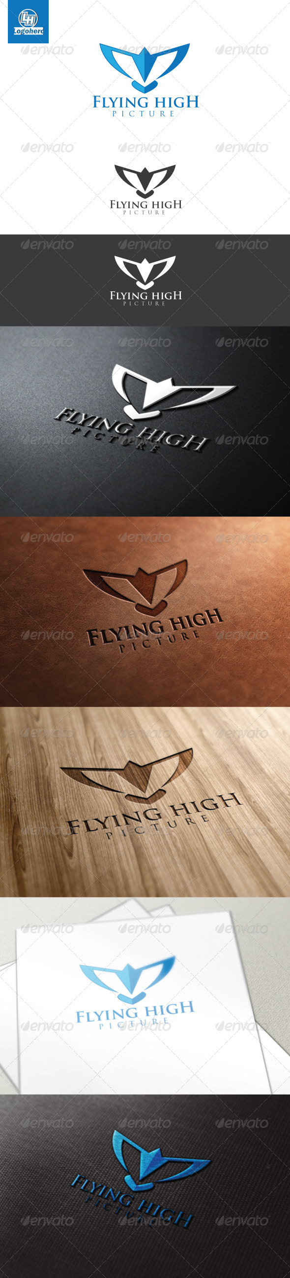 GraphicRiver Flying High Logo Template 4470619
