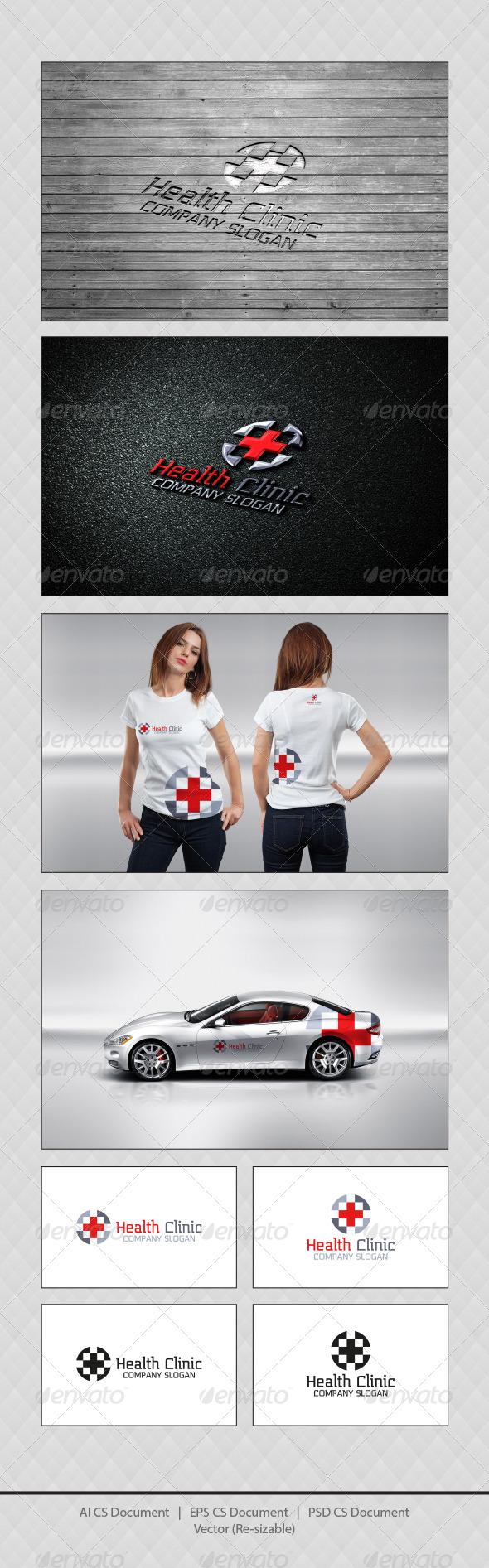 GraphicRiver Health Clinic Logo Templates 4471448