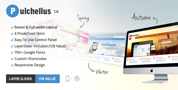 Pulchellus - Responsive 4 Seasons Theme