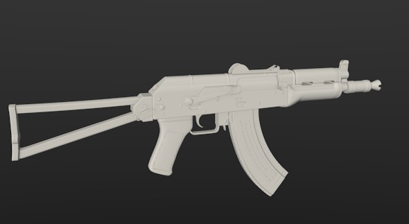 AK47-SU - 3DOcean Item for Sale