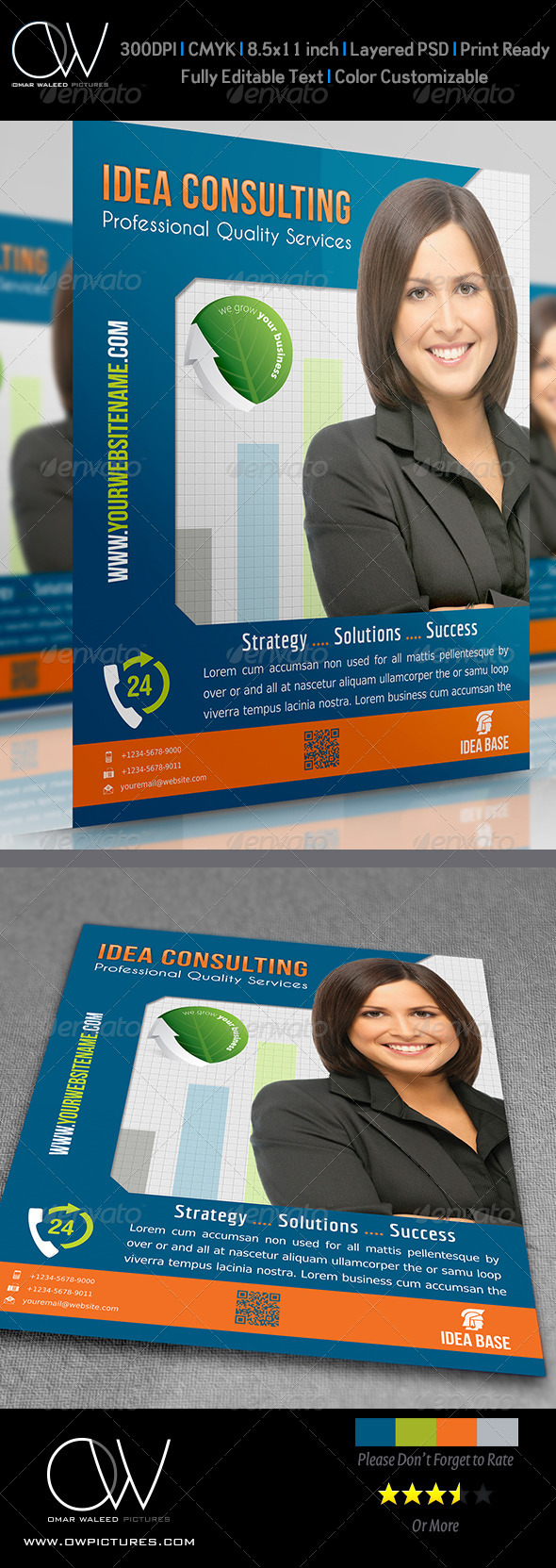 GraphicRiver Corporate Flyer Vol.5 4473848