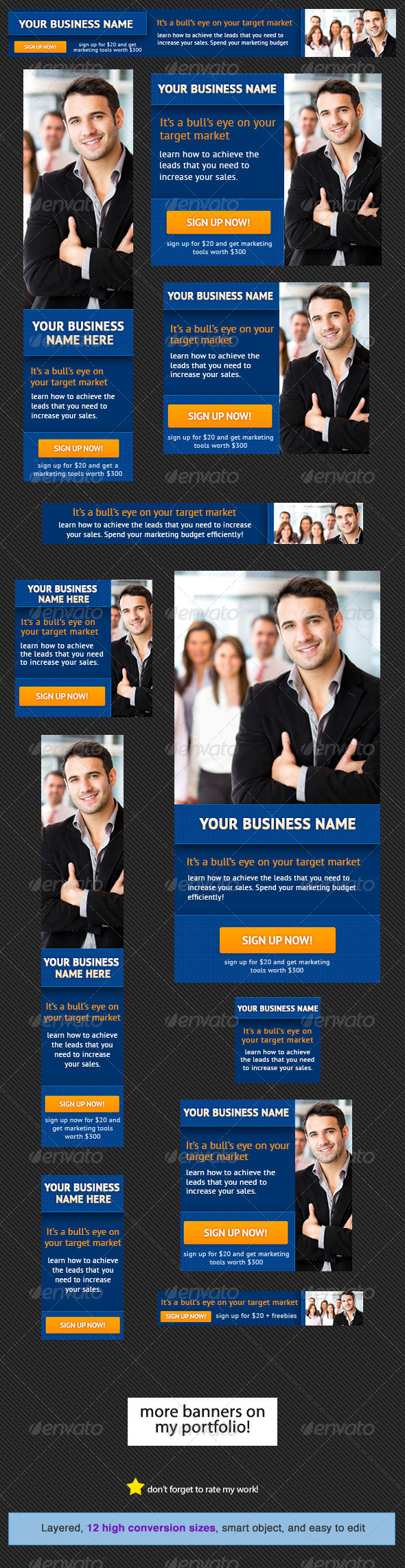Corporate Banner Design Template 8