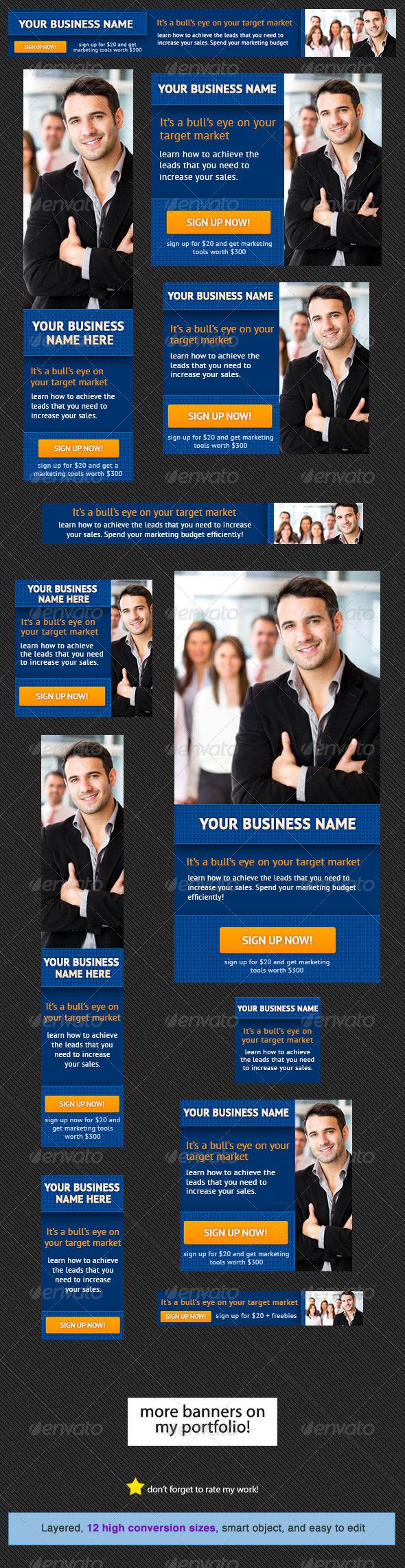 GraphicRiver Corporate Banner Design Template 8 4473970