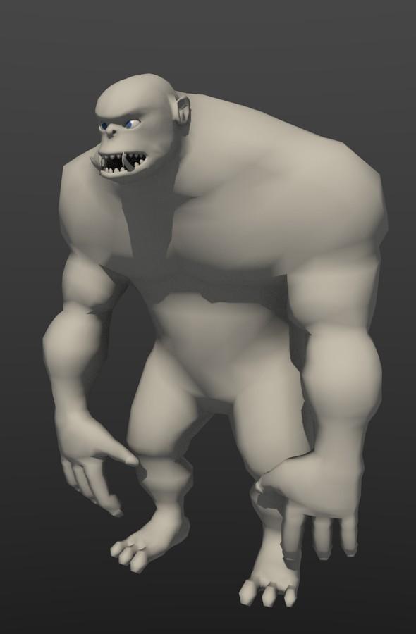 3DOcean Orka Base Mesh 4474046