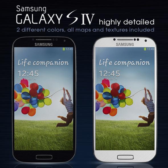 3DOcean Samsung Galaxy S4 4474561