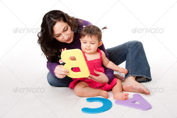 PhotoDune Baby learning alphabet ABC 476497