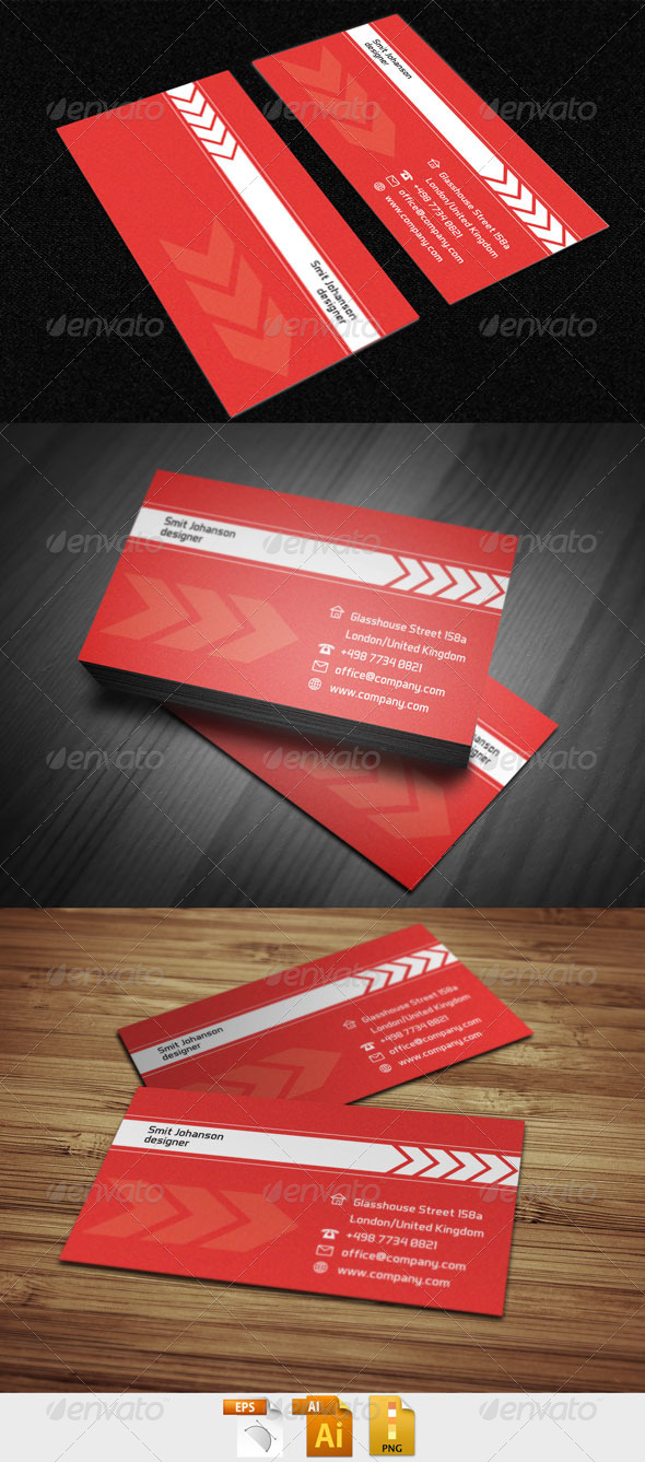 GraphicRiver Business Card 998 4309524