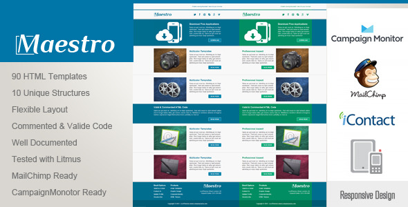 Maestro - Responsive Email Template