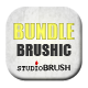 Brushic Bundle plus 3 Bonus Brushes - GraphicRiver Item for Sale