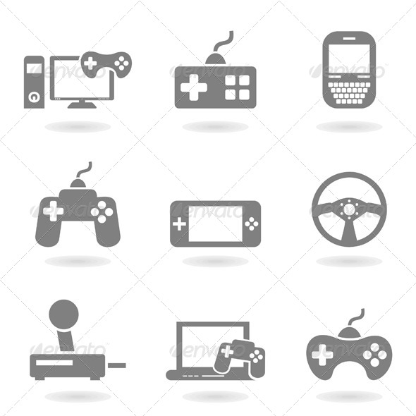 GraphicRiver Game Icons 4475745