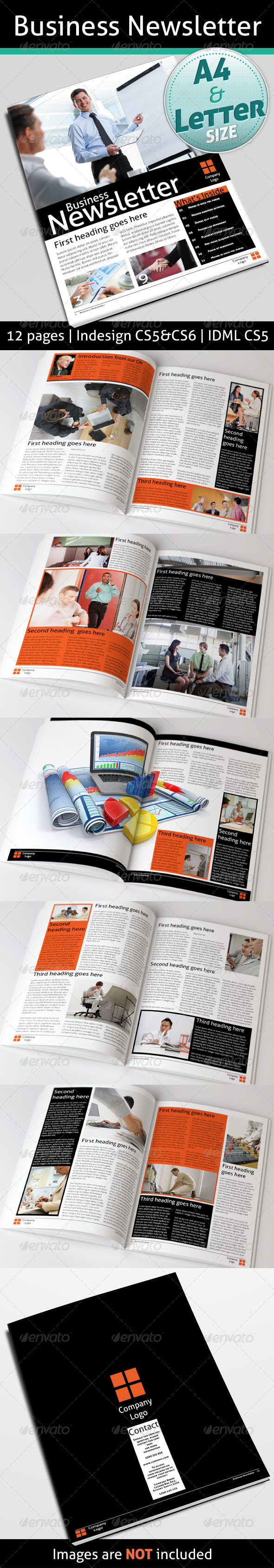 GraphicRiver Business Newsletter 4475975