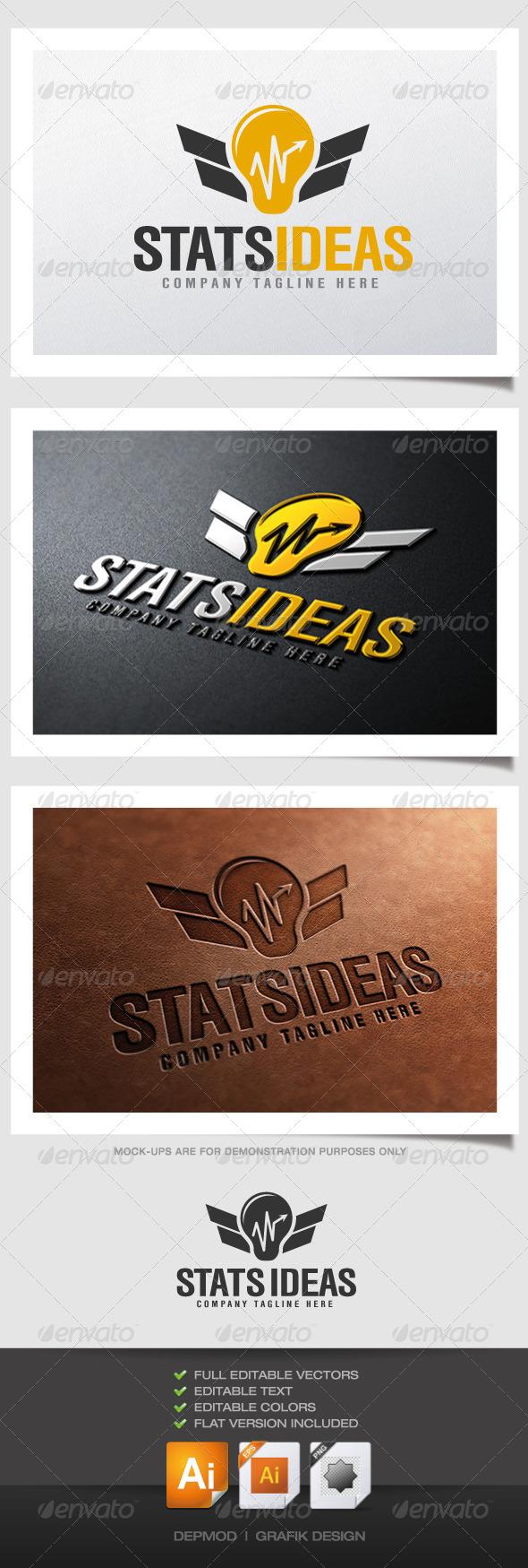 GraphicRiver Stats Ideas Logo 4476608