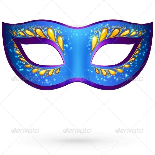GraphicRiver Vector Venitian Carnival Mask 4476729