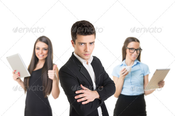 Perfect business team - Stock Photo - Images