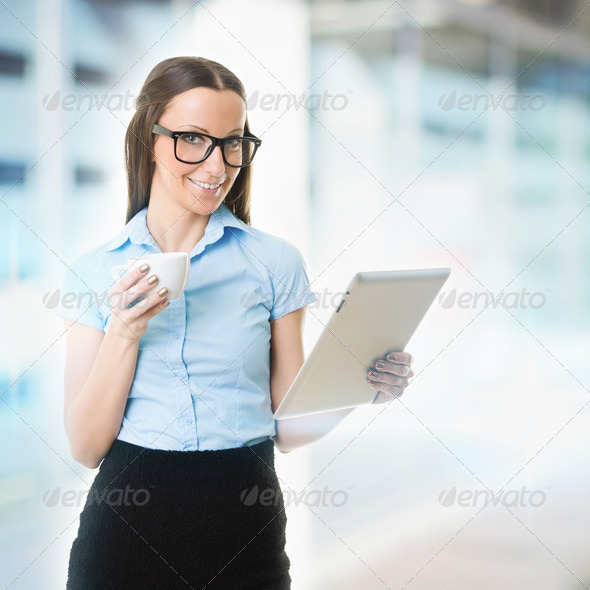 Taking a break from work - Stock Photo - Images