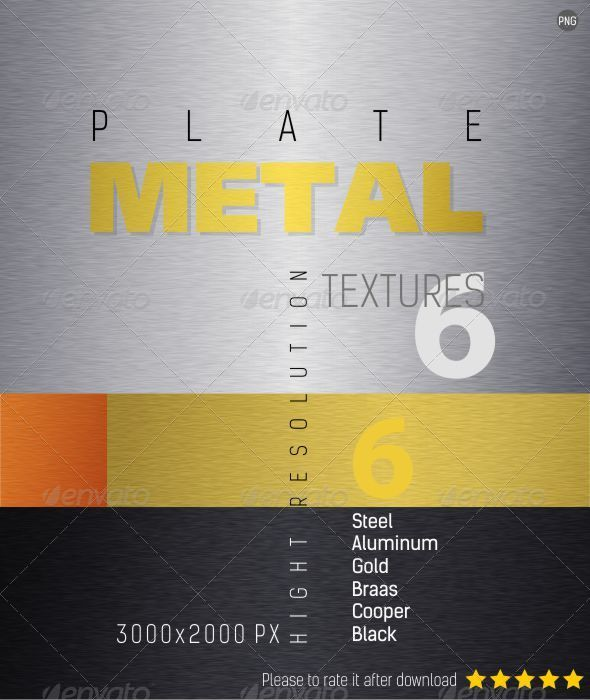 GraphicRiver Plate Metal Texture Backgrounds 4476969