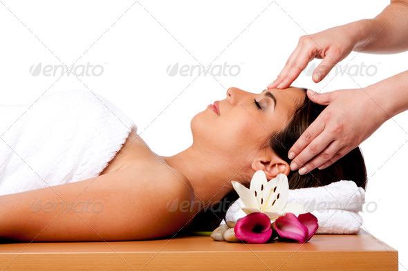 PhotoDune Facial massage in spa 479827