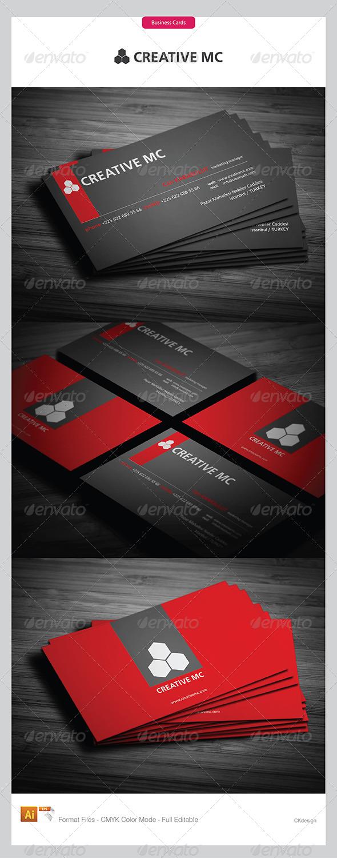 Corporate Business Cards 320 - Corporate Business Cards